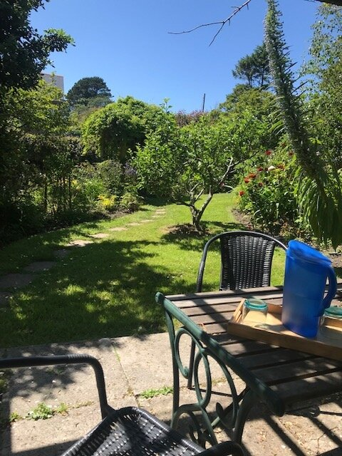 therapy in the garden